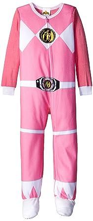 e75ace997de9 Amazon.com  Power Rangers Big Girls  Fleece Blanket Sleeper