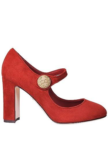 c2aab08d8df9d Amazon.com: Dolce & Gabbana Women's Fashion Pumps Red: Shoes