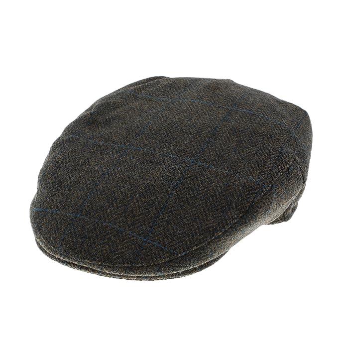 1e4de445a6cee Failsworth Tweed de Harris del hombre molesquín Cap gorro  Amazon.es  Ropa  y accesorios
