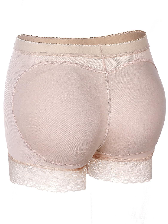 Jovitec Butt Lifter Shapewear Lace Underwear Hip Enhancer Boyshort Lace Padded Panties Fake Buttock Briefs for Women Favors