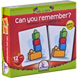 Puzzle Games For Toddlers Make A Match Can You Remember - Educational Toys Puzzle For Kids With Twelve Pairs (24+ Months)