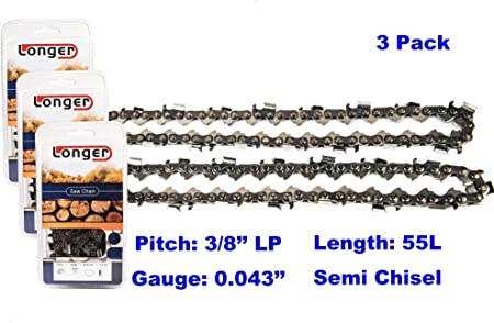 3,14 inch,Stihl,Chain,Oilomatic,3//8 LP pitch,50 drive,.043,MS170,017,MS180,MS171
