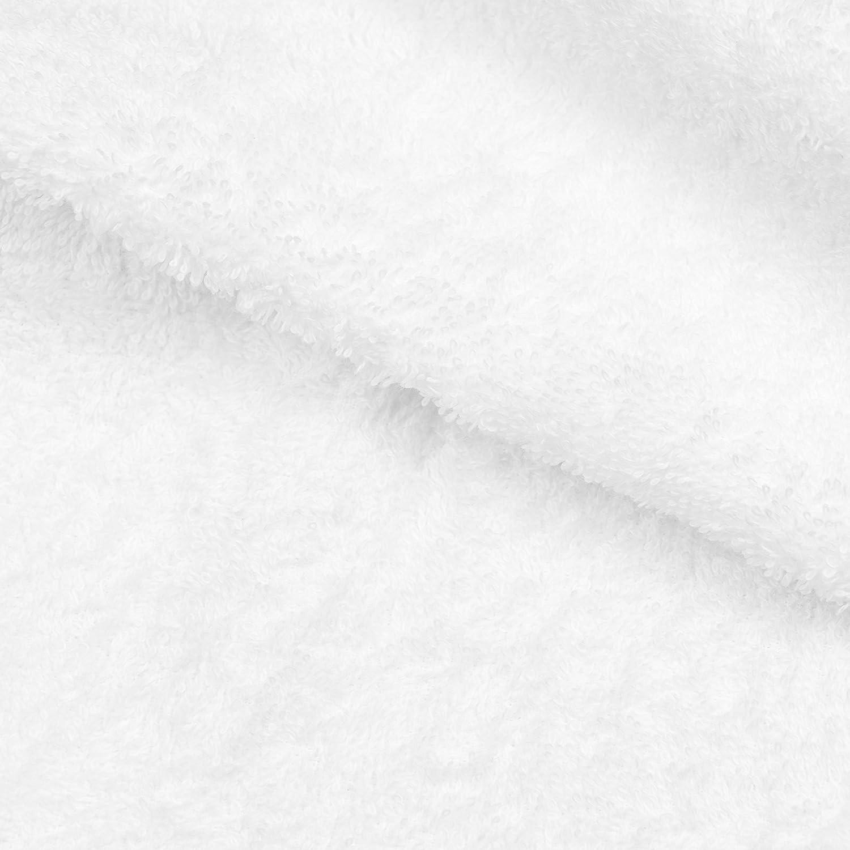 wei/ß ZOLLNER 4er Set Handt/ücher 100/% Baumwolle 50x100 cm 450g//qm