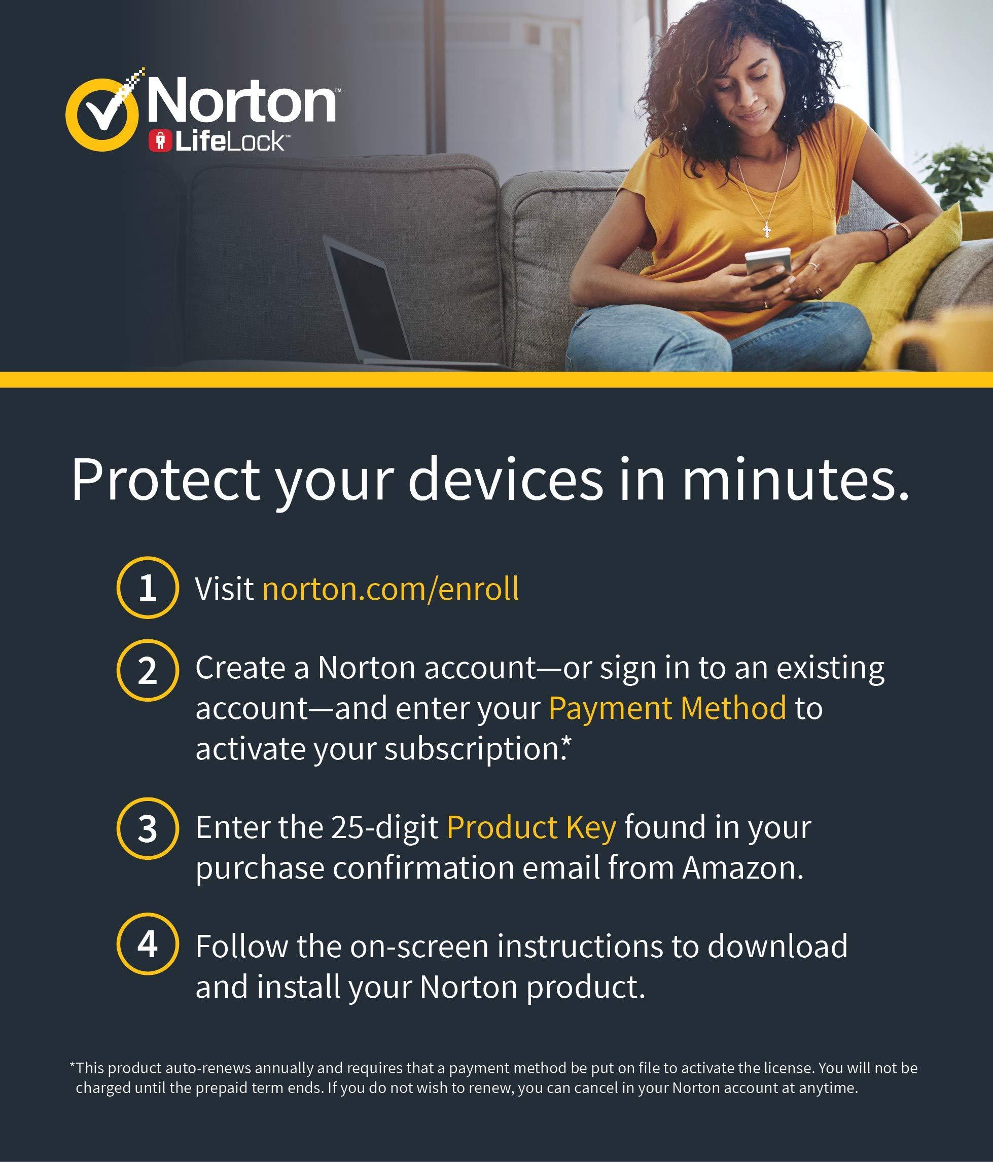 NEW Norton AntiVirus Plus – Antivirus software for 1 PC or