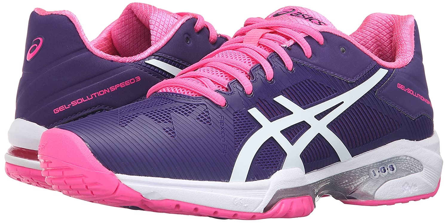 ASICS Women's Shoe Gel-Solution Speed 3 Tennis Shoe Women's B017WYNYT0 6.5 B(M) US|Parachute Purple/White/Hot Pink 56d3a3