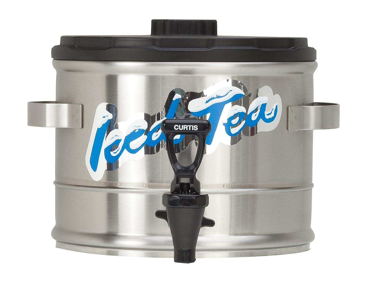 Wilbur Curtis Iced Tea Dispenser 1.5 Gallon Tea Dispenser, Stackable - Designed to Preserve Flavor- TC15S (Each)