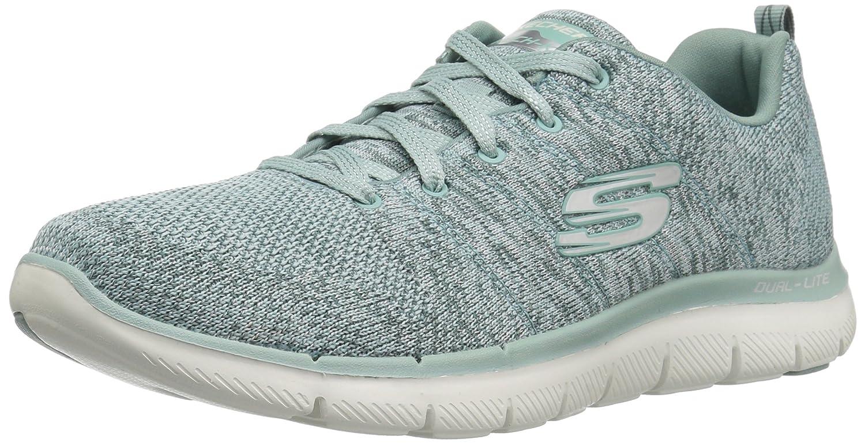 Skechers Women's Flex Appeal 2.0 Sneaker B072QYDRXG 8 B(M) US|Sage