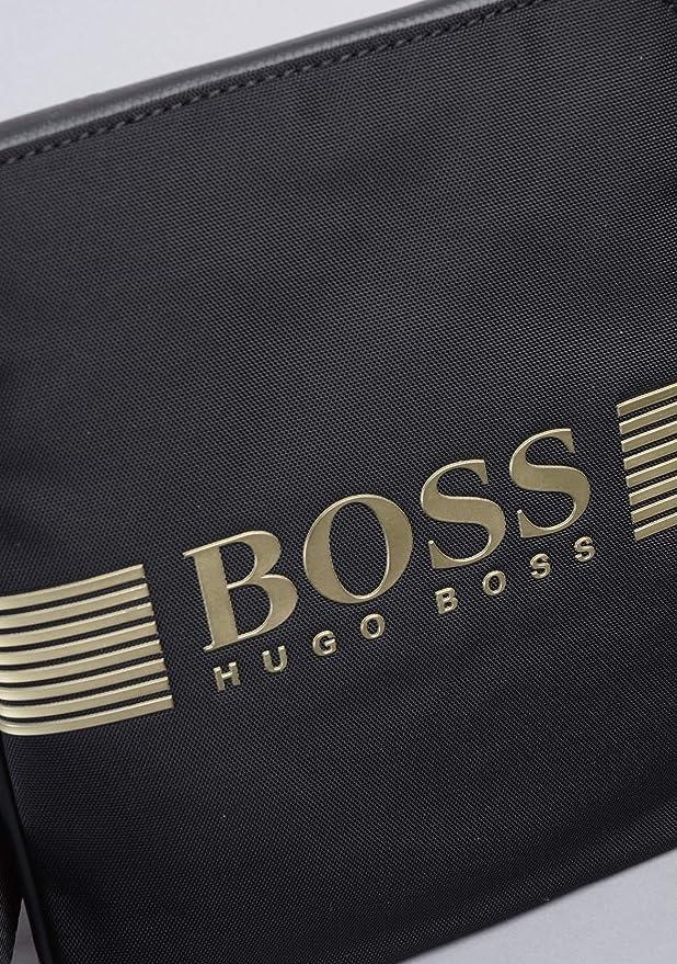 1439019383c Hugo Boss Pixel Black Crossbody Tas 50332705-004: Amazon.co.uk: Clothing