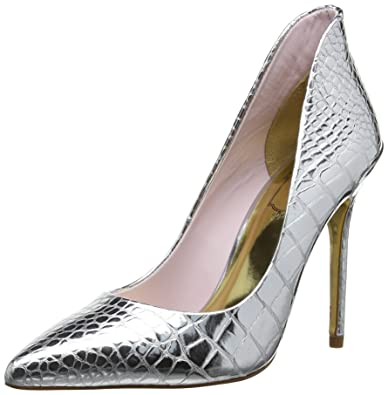 a9900323723 Ted Baker Savenniers Women s Pointed Court Shoes - Silver