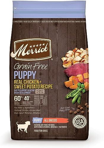 Merrick Grain Free Chicken Sweet Potato Recipe Dry Puppy Food
