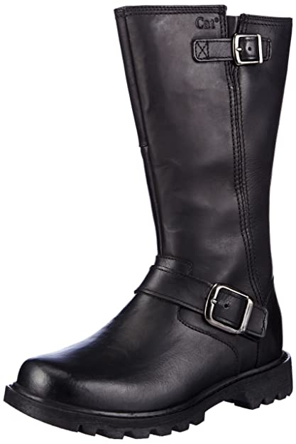 Cat Footwear Women S Everyday 10 Biker Black Biker Boots P306527 3