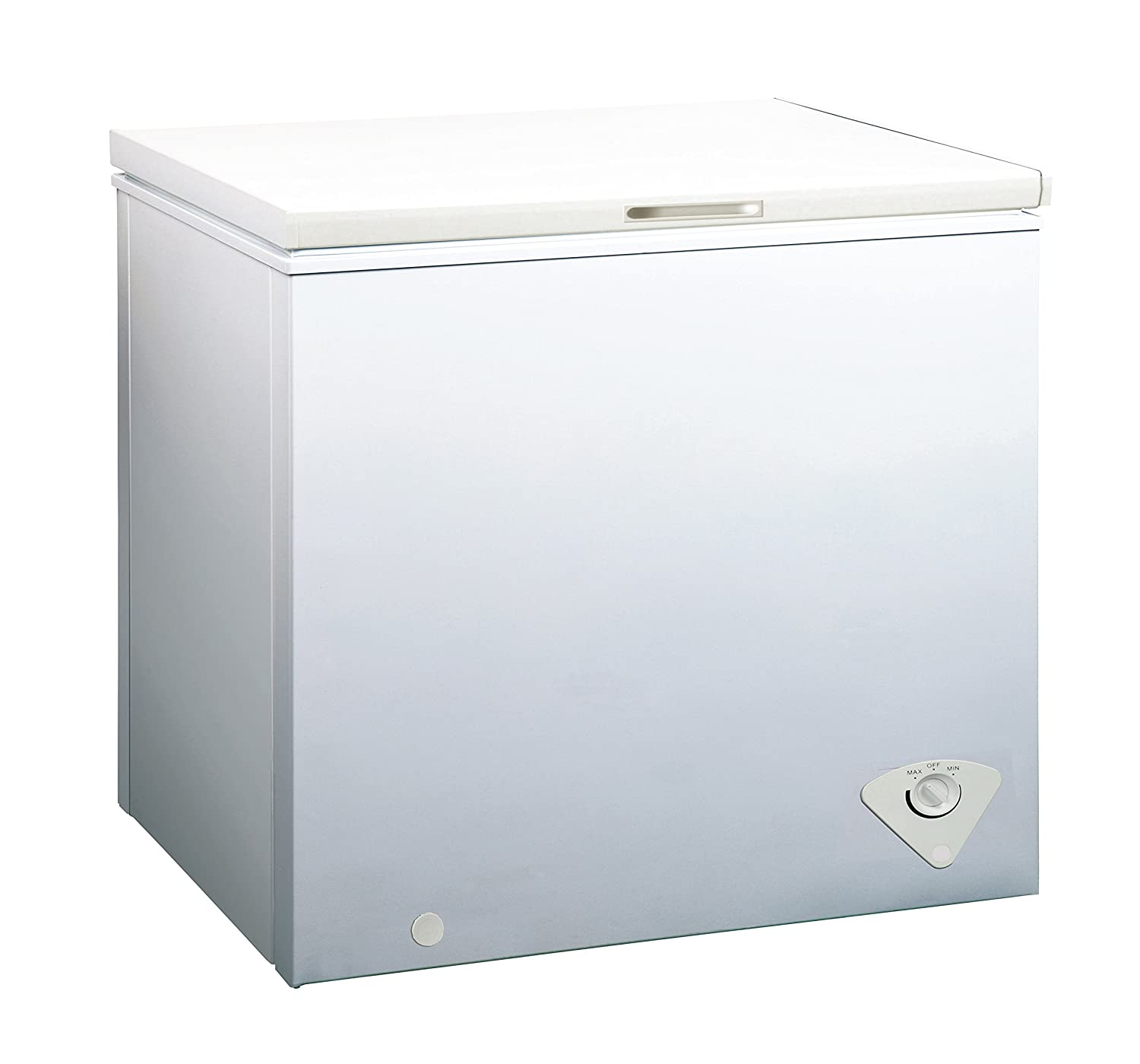midea WHS-129C1 Single Door Chest Freezer, 3.5 Cubic Feet, White Midea America Corperation