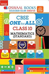 Oswaal CBSE One for All, Mathematics, Class 10 (Reduced Syllabus) (For 2021 Exam) Kindle Edition