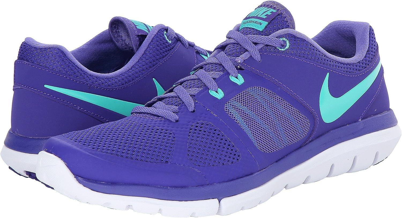 Nike Wmns Flex 2014 RN, Zapatillas de Running para Mujer, Rojo ...