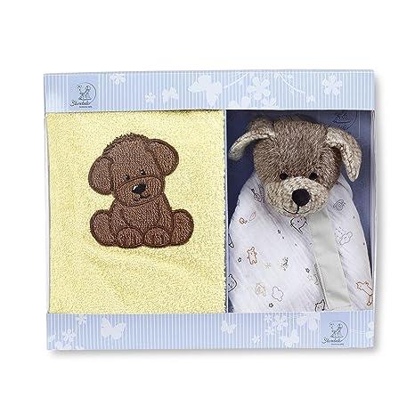 Sterntaler Set para regalo del perro Hanno, Toallita infantil y ...