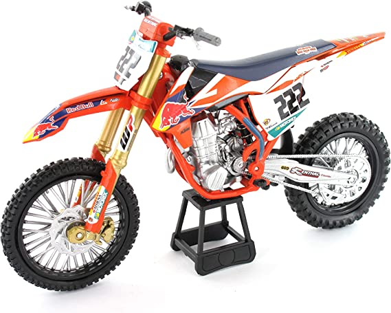 New Ray Nr58123 1 10 Red Bull Ktm 450 Sx F Cairoli 222 Orange Spielzeug