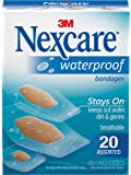 Nexcare Waterproof Bandages, Assorted 20 ct