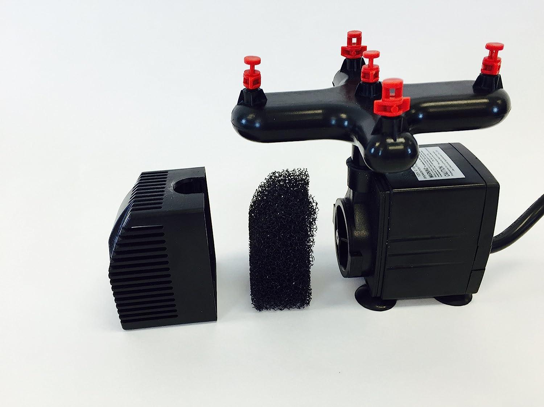 Viagrow Clone Machine Site Klonmaschine 24 Standorte Aeroponic Hydroponic System schwarz Single