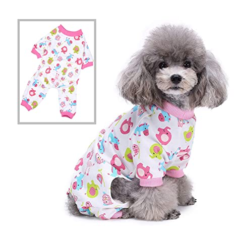 SELMAI Pijamas para Perros Ropa de Dormir Gatos Vestir ...