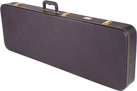 Kinsman - Estuche rígido para guitarras eléctricas (rectangular ...