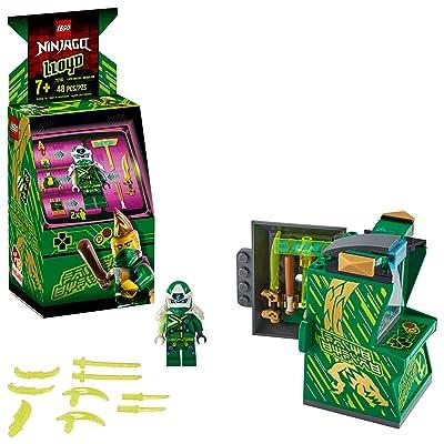 LEGO NINJAGO Lloyd Avatar - Arcade Pod 71716 Mini Arcade Machine Building Kit, New 2020 (48 Pieces): Toys & Games