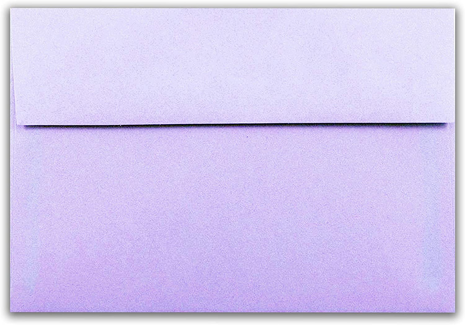 Amethyst Purple 50 Boxed A7 5-1//4 x 7-1//4 Announcements from The Envelope Gallery Invitations Envelopes for 5 X 7 Greeting Cards