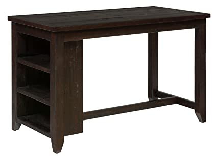 Attrayant Jofran Prospect Creek Wood Counter Height Dining Table In Dark Brown