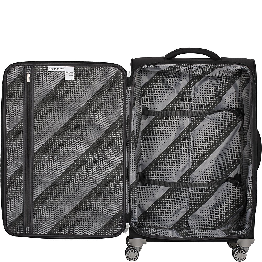it luggage Quilte 8-Wheel Lightweight 3-Piece Set Burnt Brick IT Luggage Parent Code 12-214808-GLO3N-S997