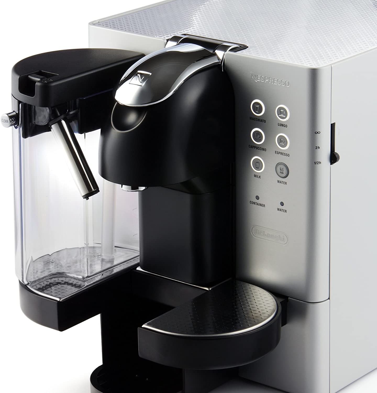 Delonghi Latissima Premium - Cafetera nespresso de metal, automática, con dispensador de leche, 19 bares: Amazon.es: Hogar