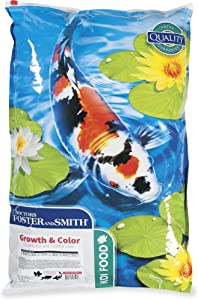 DRS. Foster and Smith Growth & Color Quality Koi and Goldfish Food, 20 lbs.