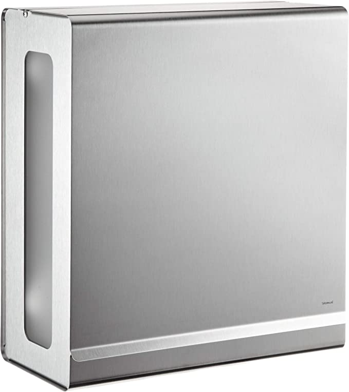 Blomus 66656 Stainless Steel Paper Towel Dispenser Home Kitchen Amazon Com