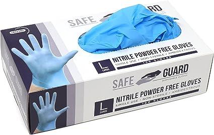 Size M Nitrile Gloves 100