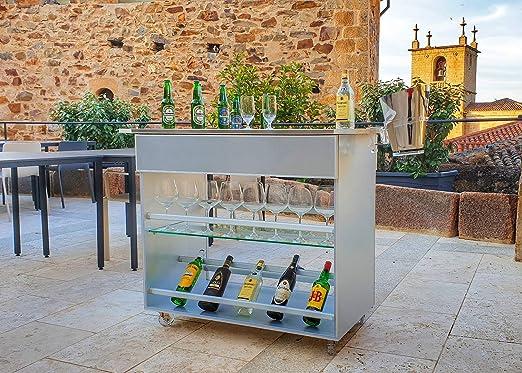 CONSTANKITCHEN Carro Servir Bebidas Terraza Bar Jardín 100 ...