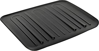 product image for Rubbermaid Antimicrobial Drain Board, Large, Black L3-1182-M6-BLA