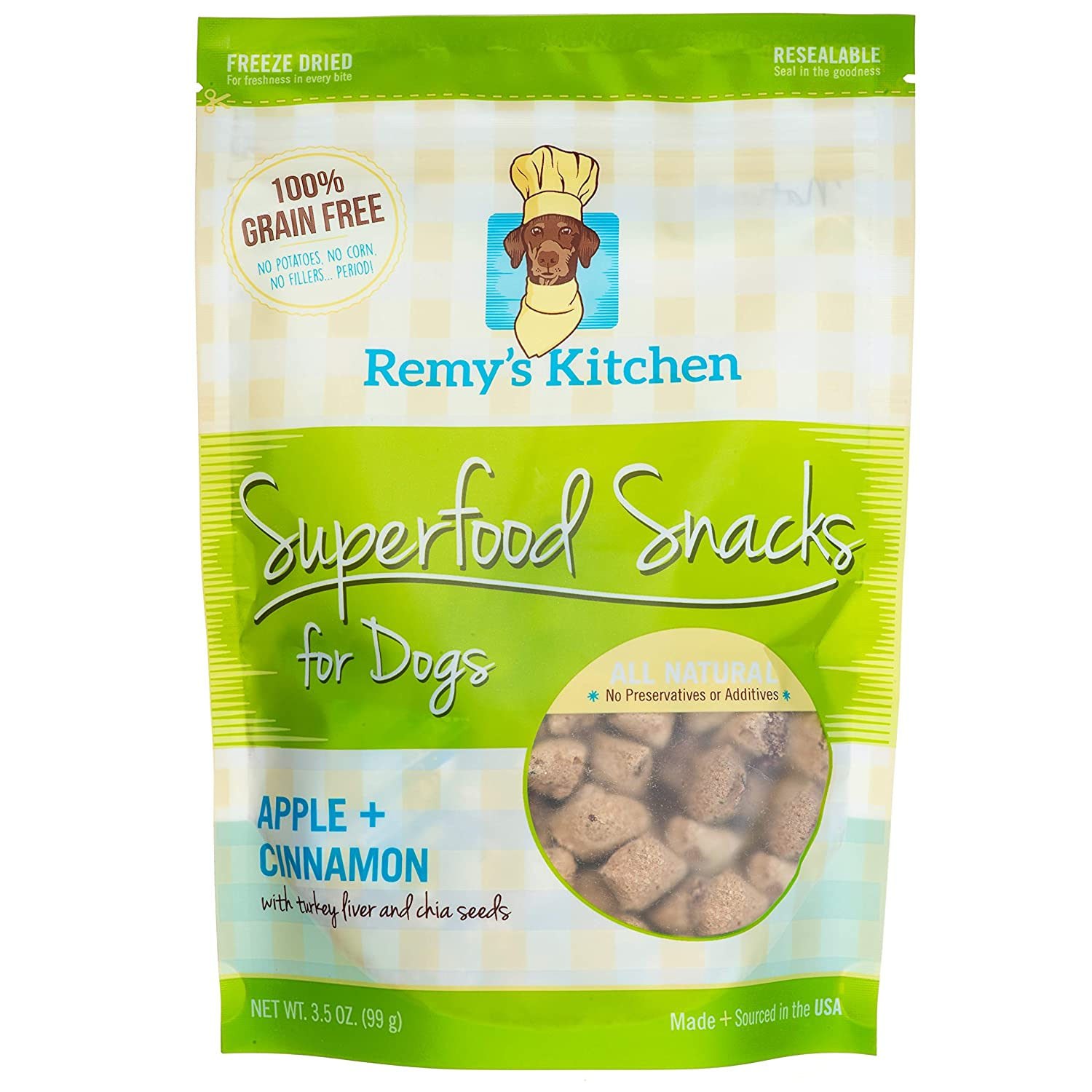 Remy S Kitchen Superfood Snacks For Dogs Apple Cinnamon