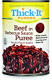 Thick-It Puree Food, Beef with Barbecue Sauce, 15 Ounce