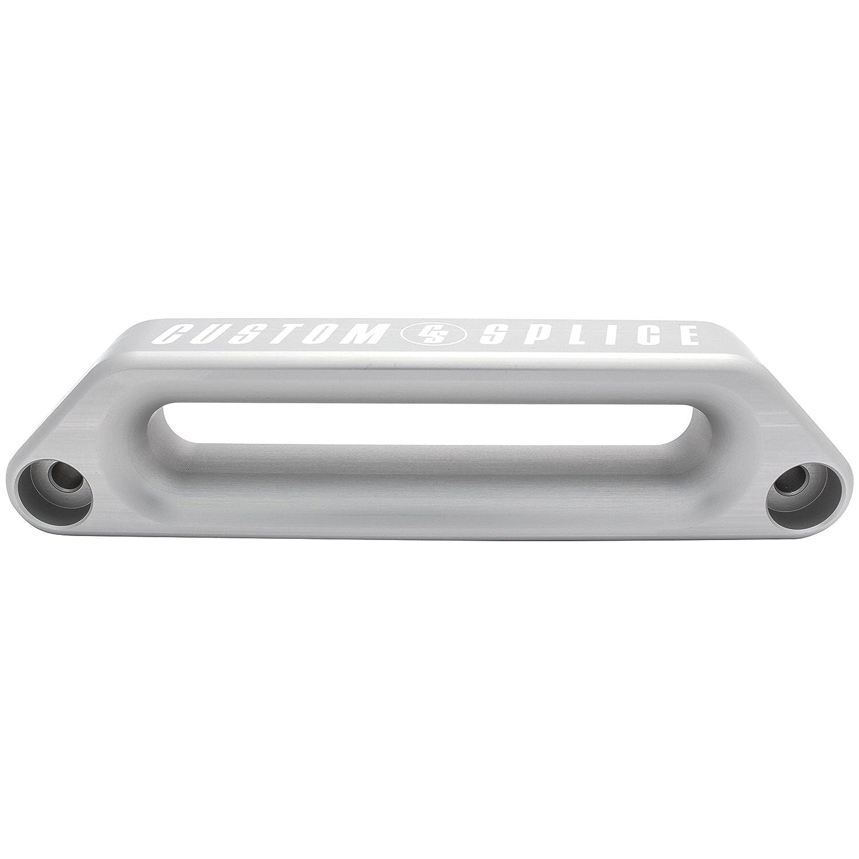 Silver Clear Anodized Custom Splice ARB Offset Hawse Fairlead V2