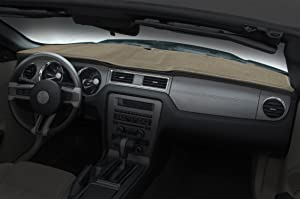 Coverking Custom Fit Dashcovers for Select Ford F-Series Models - Poly Carpet (Beige)