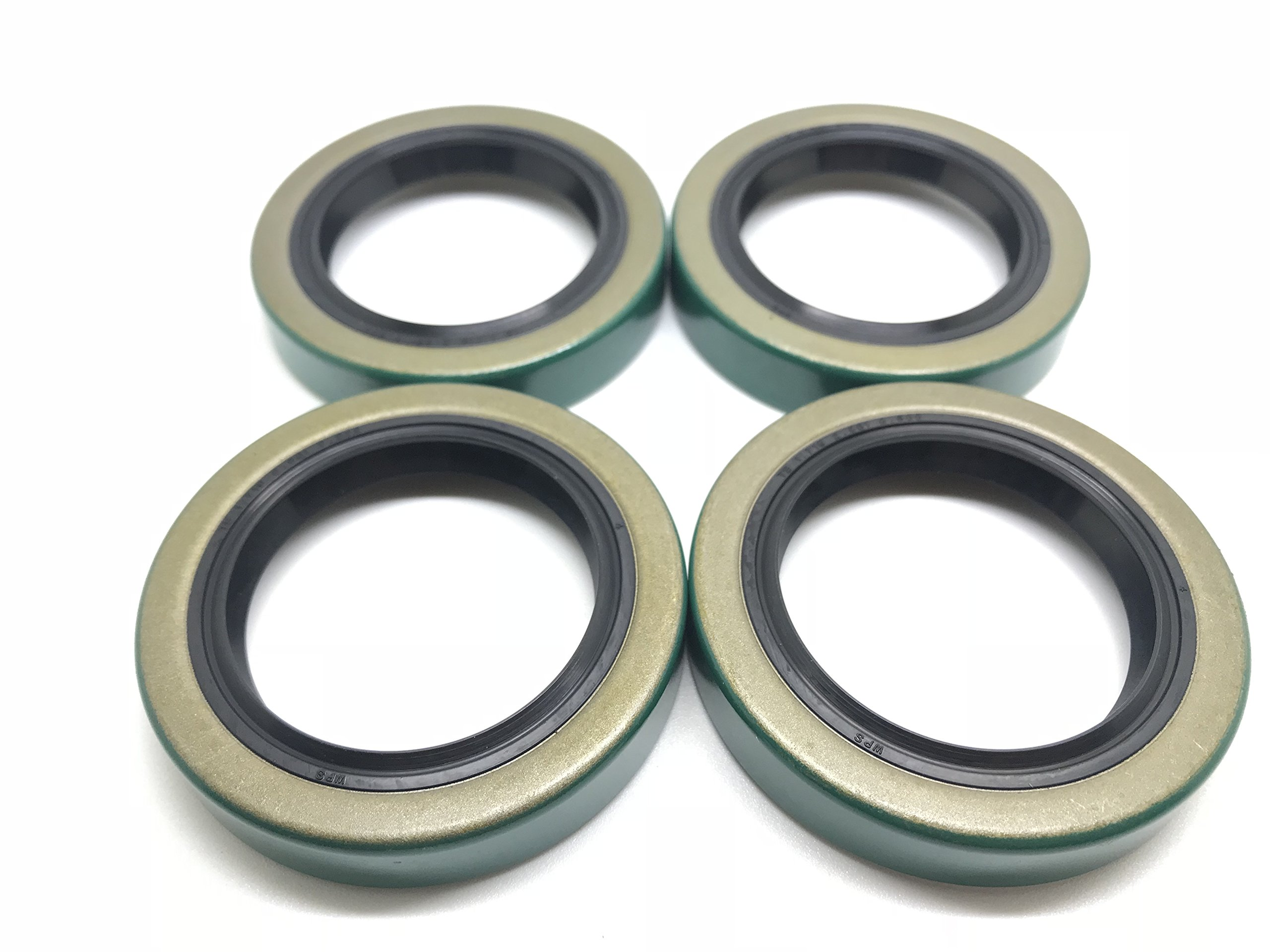 WPS (Pack of 4) (TM) Trailer Hub Wheel Grease Seal 10-19 171255TB 1.719'' X 2.565'' For 3500# E-Z Lube Axles