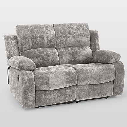 Valencia 2 plazas eléctrica sillón reclinable sofá - luz ...