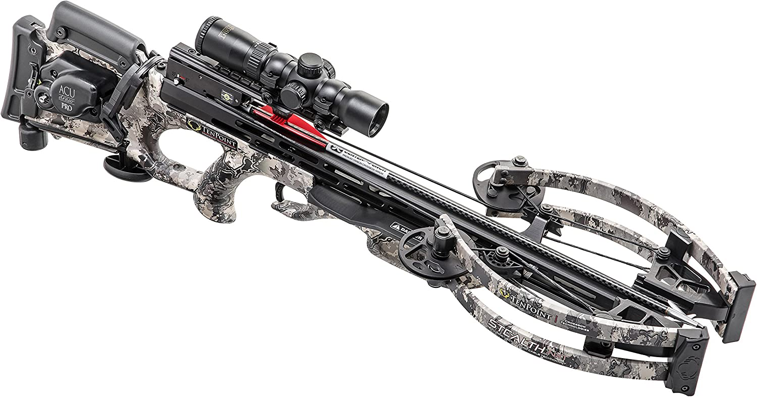 TenPoint CB18019-3813 Stealth NXT Standard Crossbow Package