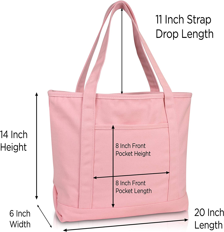 Natural Hair Woman w Head Down Canvas Tote Bags Dark Pink Glitter