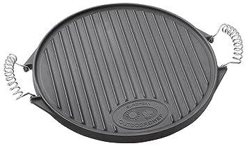Outdoorchef - Plancha para barbacoa 480/570 BBQ (tamaño mediano): Amazon.es: Jardín