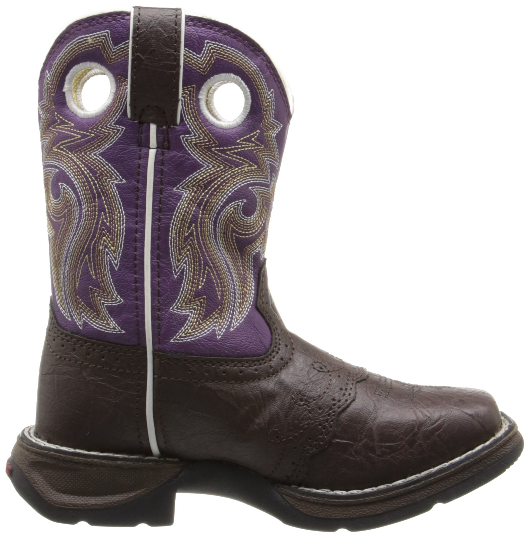 Lil' Rebel by Durango Girl's Brown Lacey Western by Durango (Image #6)