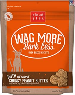 product image for Cloud Star Wag More Bark Less Oven Baked, Crunchy Dog Treats, Limited Ingredients & Baked in the USA