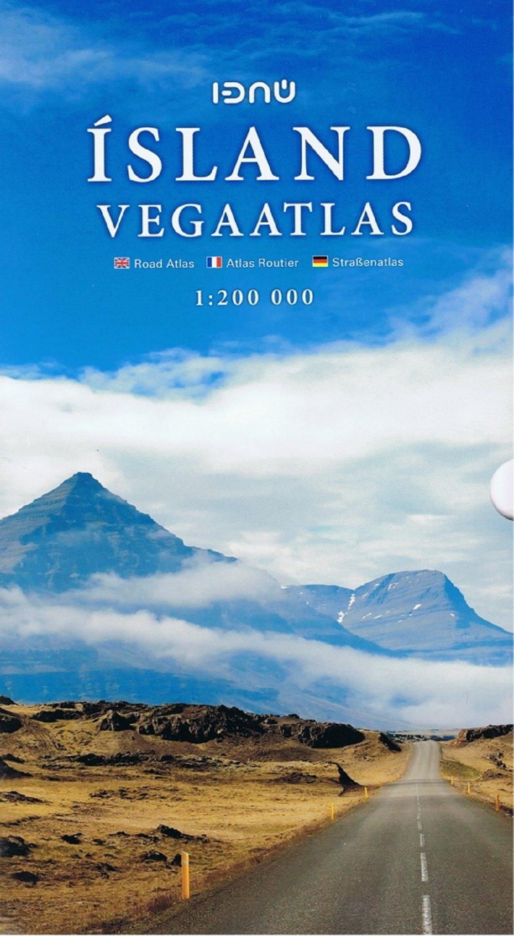 Iceland Road Atlas Spiral 2015: ICELANDA.10