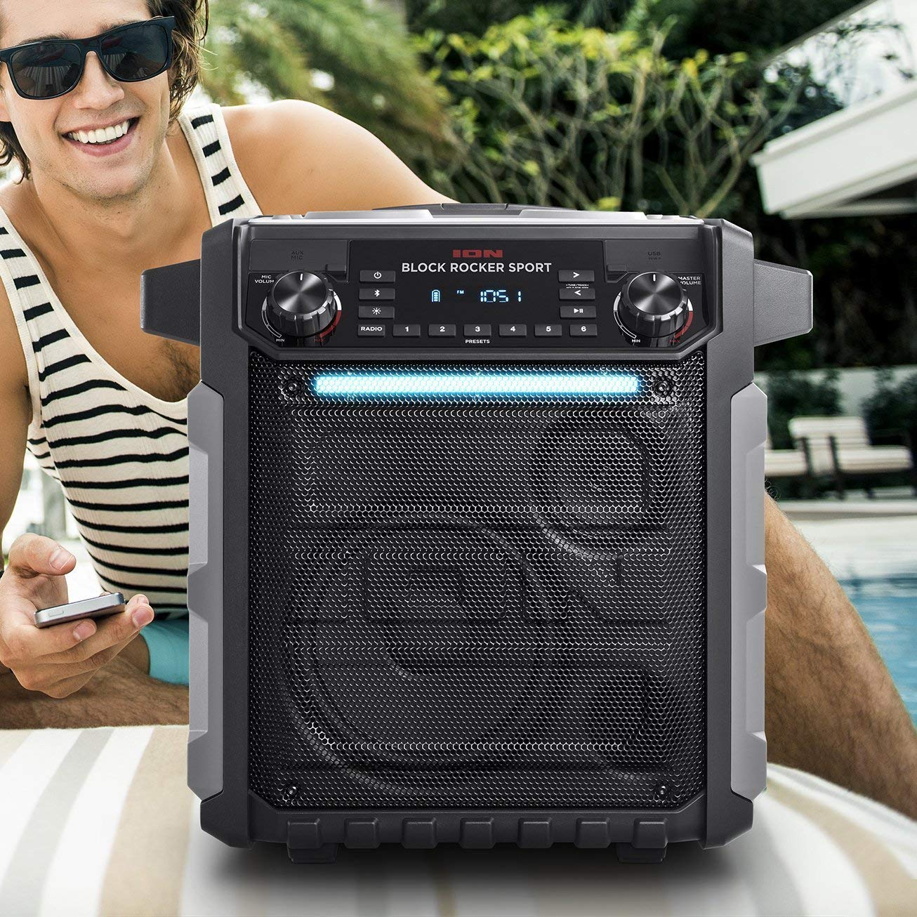 Ion Audio Pathfinder | High Power All-Weather Rechargeable Speaker (Renewed) by Ion (Image #3)