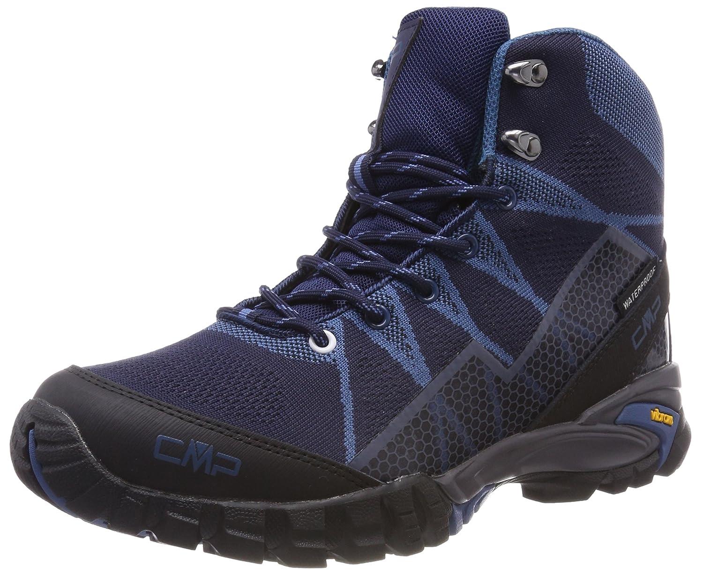 CMP Tauri, Zapatos de High Rise Senderismo para Hombre 43 EU|Azul (Black Blue)