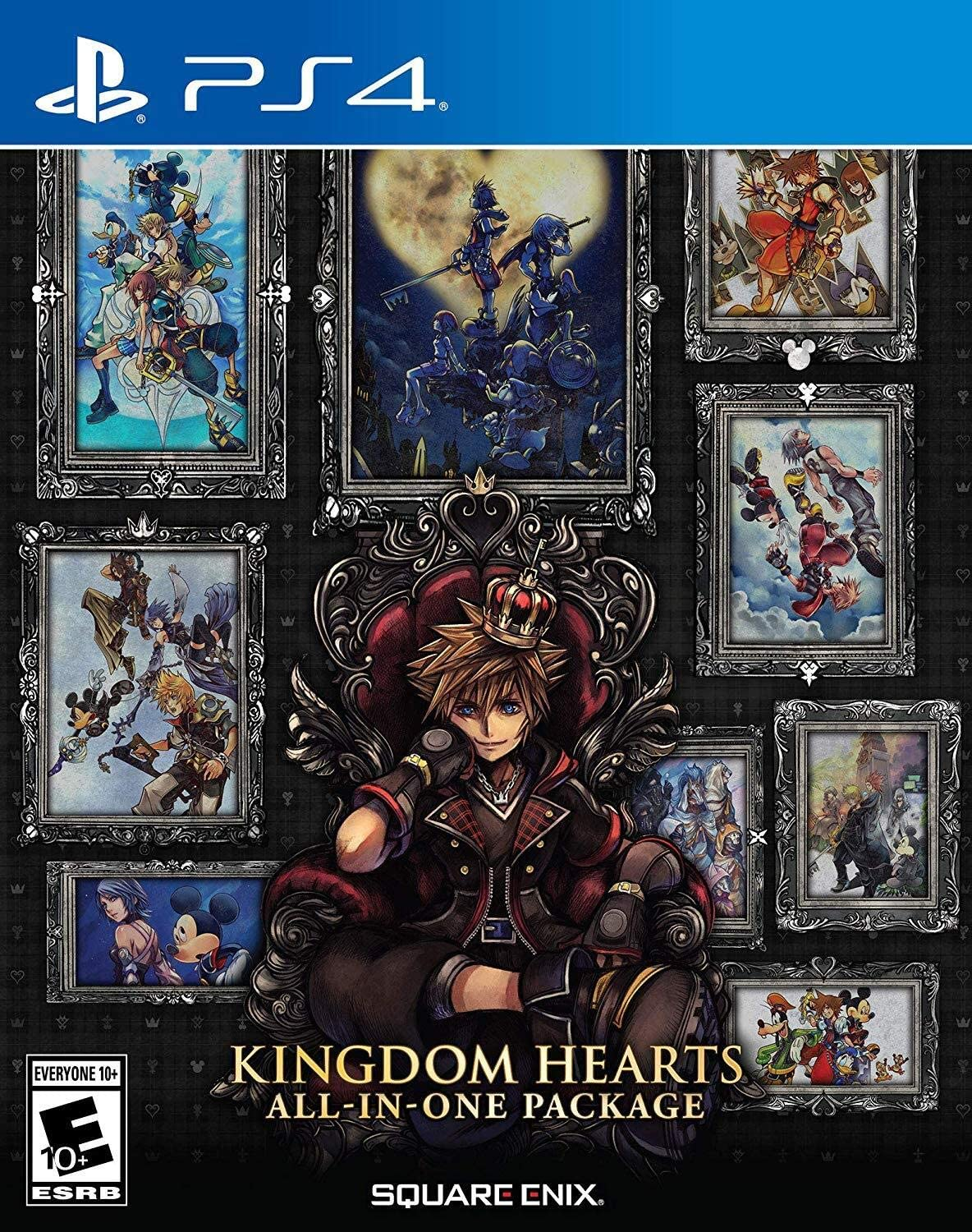 Amazon Kingdom Hearts All In One Package 輸入版 北米 Ps4 ゲームソフト