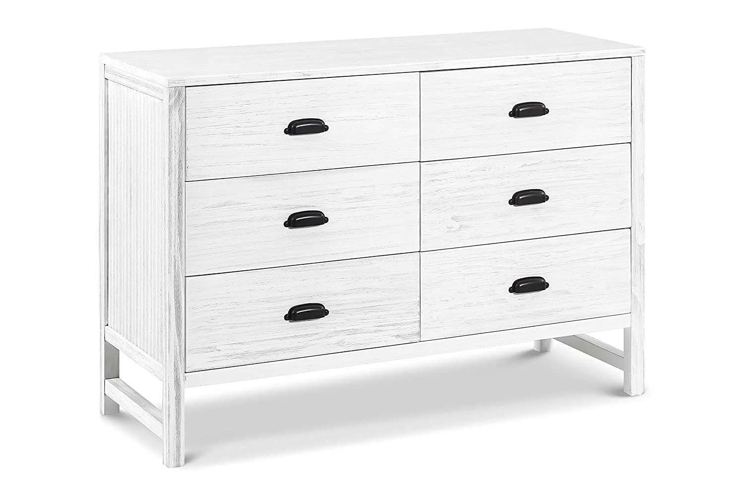 DaVinci Fairway 6-Drawer Double Dresser, Rustic Grey DaVinci - DROPSHIP M13516UG